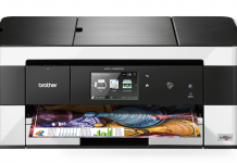 Impressora multifunció model MFCJ4620DW de la marca Brother