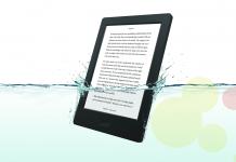 e-Reader de la marca Kobo model Aura H2O
