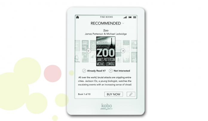 e-Book reader de la marca Kobo model Glo HD