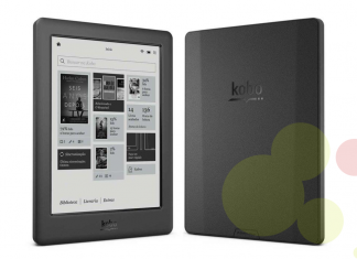 e-Book reader de la marca Kobo model Touch 2.0