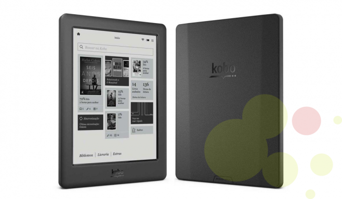 e-Book reader de la marca Kobo model Touch 2.0