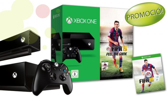 Pack Consola XBOX ONE 500GB + Joc FIFA 15